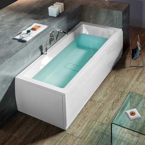 Berg 1800mm Modern Double Ended Bath